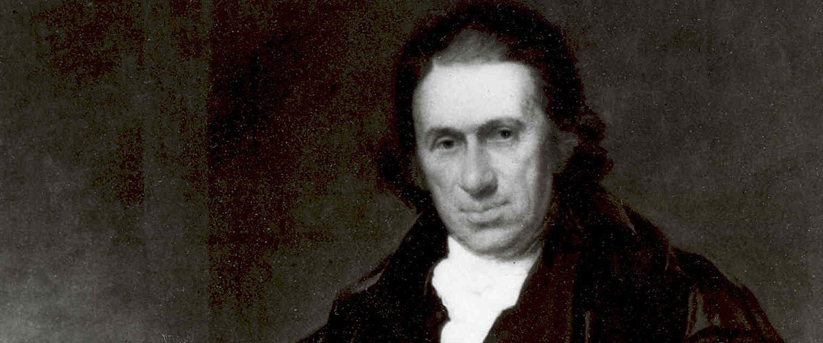Portrait of Dr. Samuel Bard, the founder of what became NewYork-Presbyterian Hospital