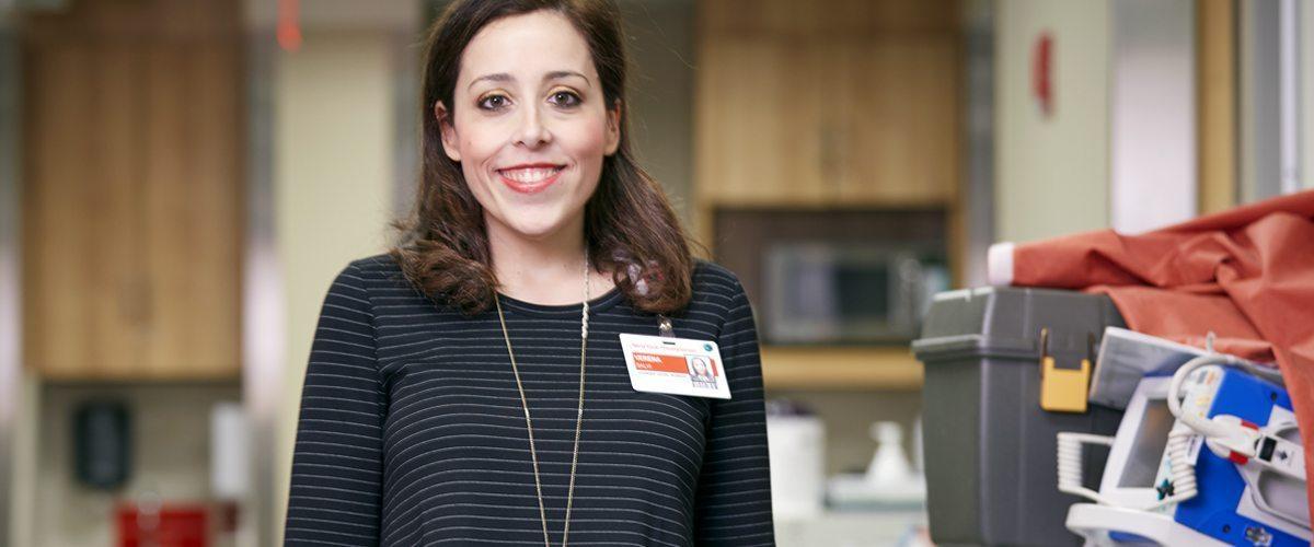 Portrait of social worker Verena Salvi, LMSW