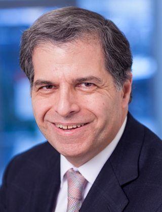 Portrait of Dr. Gary Schwartz, chief of the hematology and oncology division