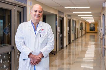 Portrait of Dr. Emile Bacha