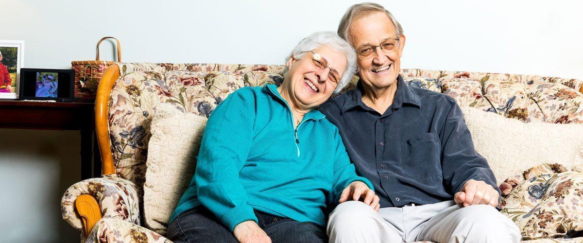 Portrait of Bill and Joan McComas