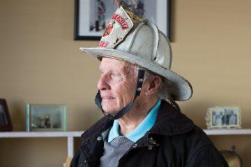 Portrait of Amazing Patient Howard DeSavino