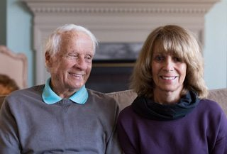 Portrait of Howard DeSavino and his wife Sara