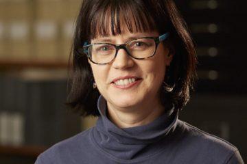 Portrait of Lisa Mix, NewYork-Presbyterian's archivist