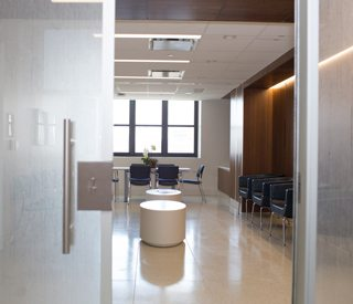 The new Mothers Center waiting room