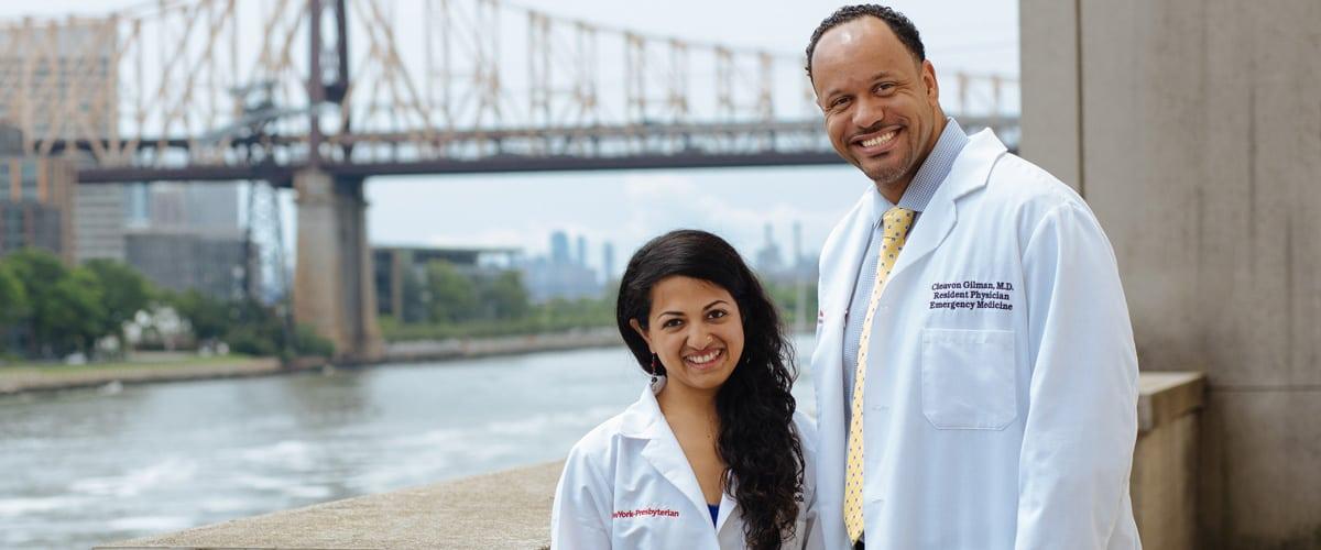 Portrait of Drs. Diksha Mishra and Cleavon Gilman