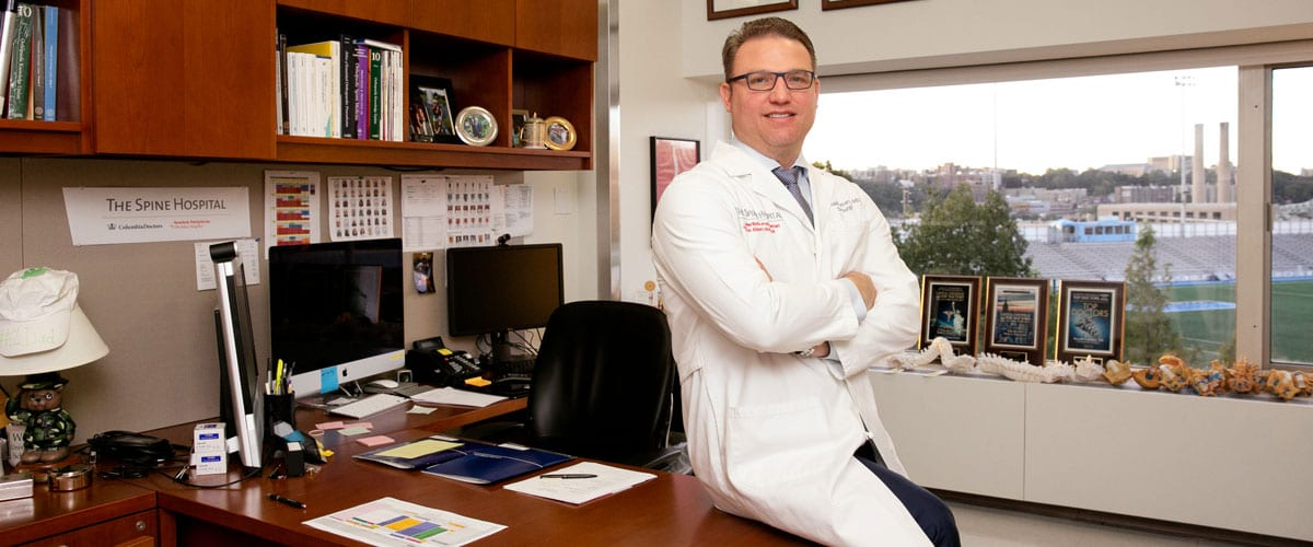 Portrait of Dr. Ronald Lehman in his office