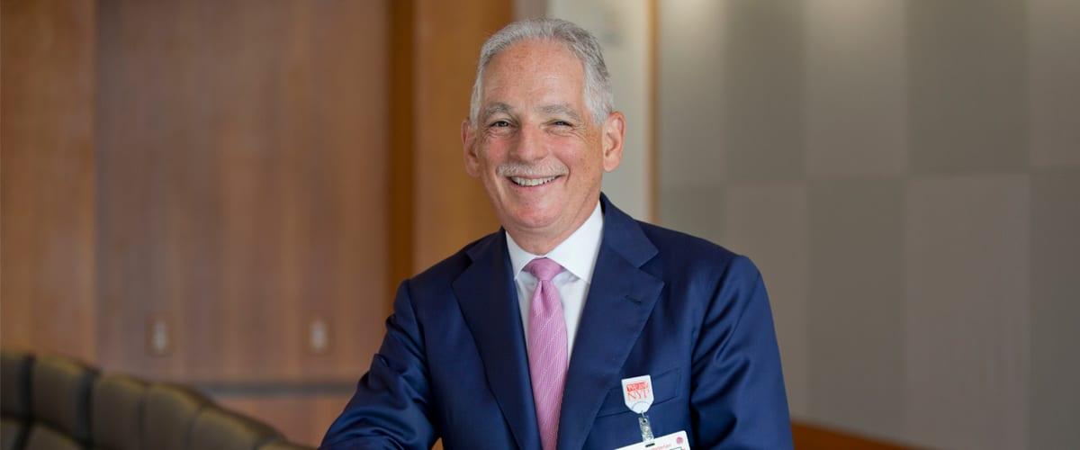 NewYork-Presbyterian President and CEO Dr. Steven J. Corwin