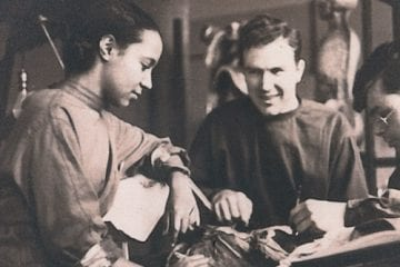 doctor margaret lawrence and colleagues