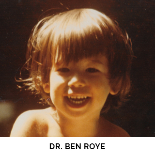Dr. Ben Roye as a child