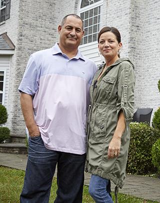 Portrait of Sandy and Michelle Kyrkostas
