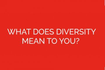 """Text asking """"What does diversity mean to you"""""""