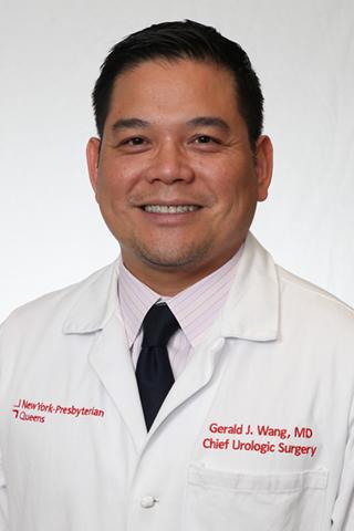Portrait of Dr. Gerald Wang