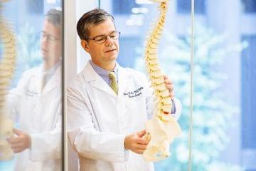 Portrait of Dr. Peter Angevine, spine surgeon
