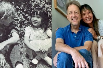 Duncan and Kim through the years