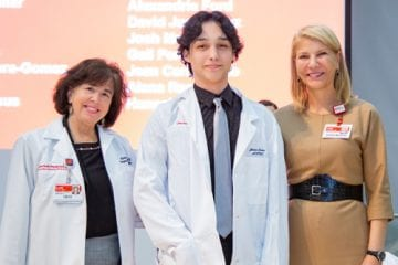 Lang Youth Medical Program induction ceremony