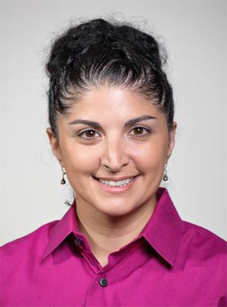Headshot of Dr. Sarah Vossoughi