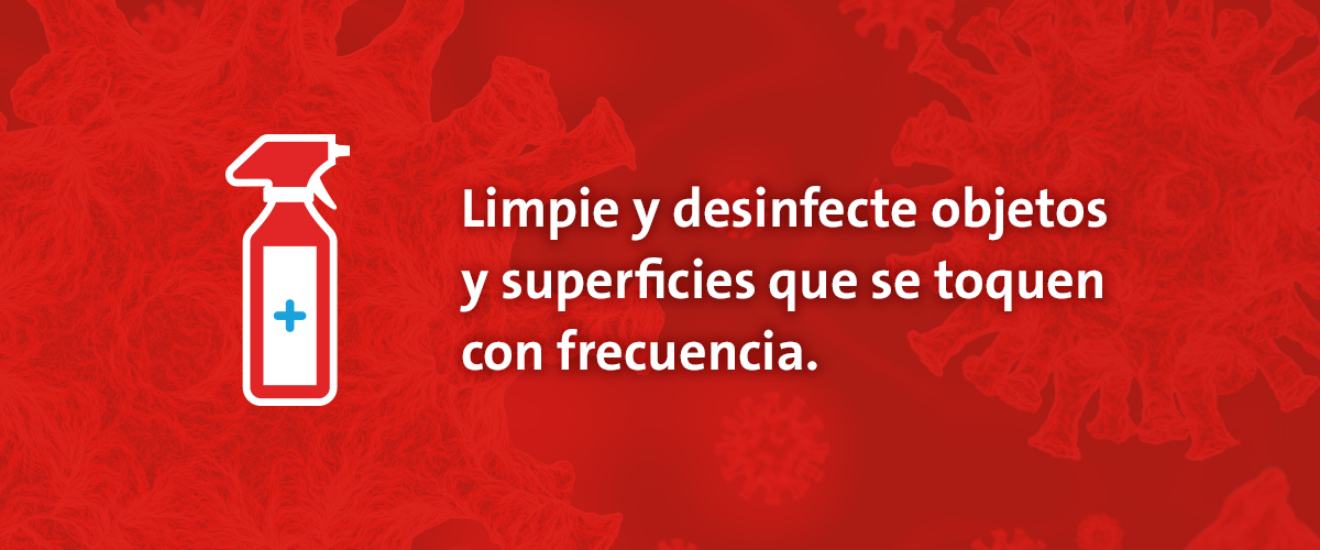 Slideshow explaining in Spanish what to do if you think you've been exposed to coronavirus.