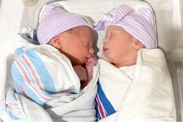 First babies born at NewYork-Presbyterian Alexandra Cohen Hospital for Women and Newborns