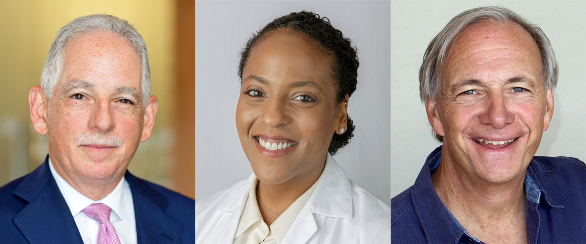 Dr. Steven J. Corwin, Dr. Julia Iyasere, and Mr. Ray Dalio discuss NewYork-Presbyterian's Dalio Center for Health Justice.