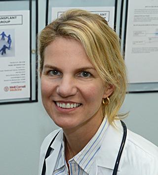 Dr. Kristen Marks, expert on the COVID-19 vaccine.