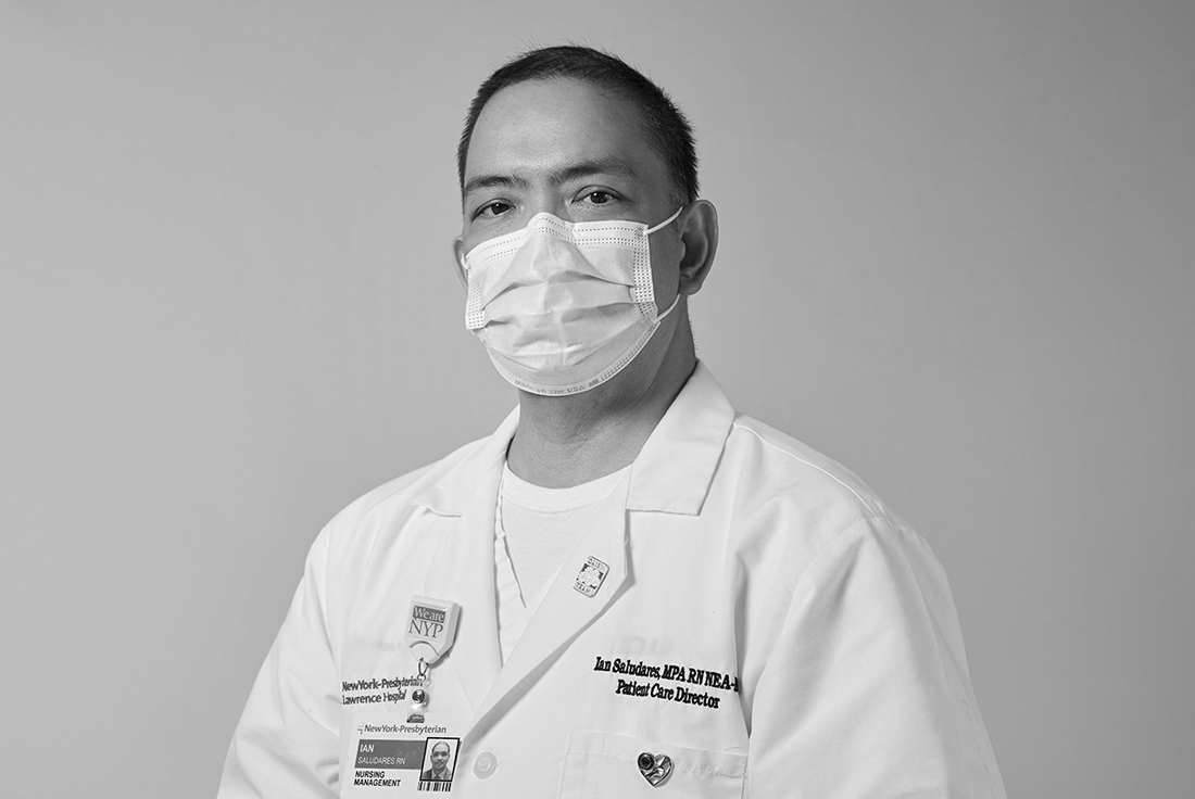 NYP Lawrence Patient Care DirectorIan Saludares