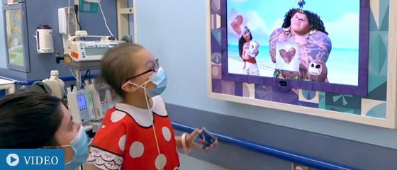 Bringing Disney Magic to Young Patients