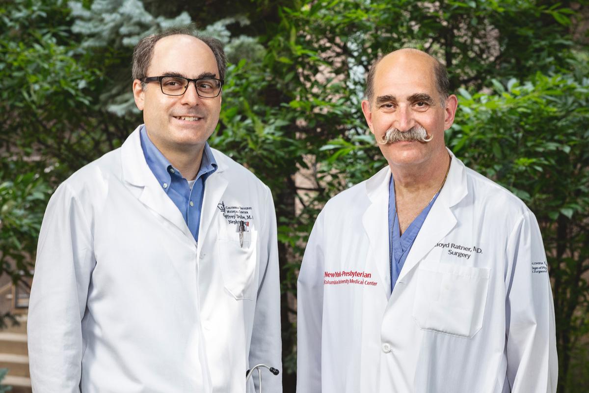 Raymond Fermin's triple transplant team at NewYork-Presbyterian.