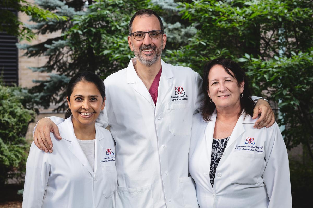 Raymond Fermin's triple transplant care team at NYP