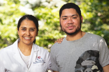 Triple transplant patient Raymond Fermin