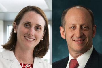 Dr. Sallie Permar and Dr. Jordan Orange