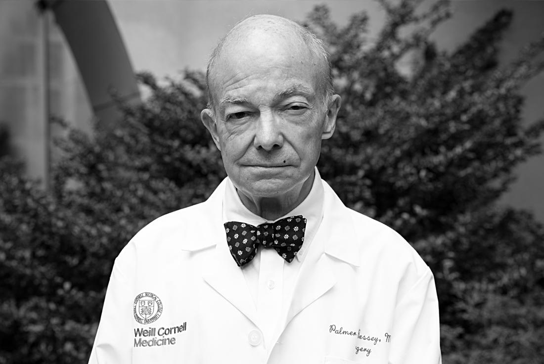 Dr. Palmer Bessey, surgeon at the William Randolph Hearst Burn Center